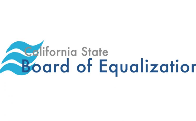 The Board of Equalization wants to keep you informed!