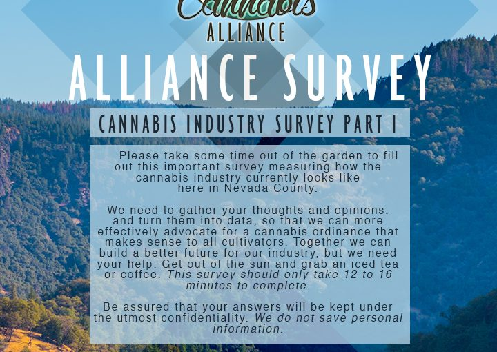 Alliance Industry Survey Part 1